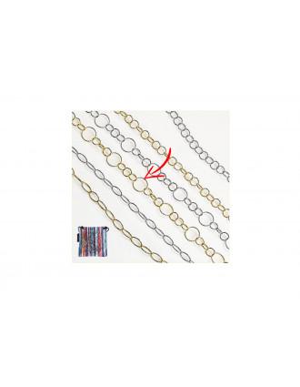 CentroStyle 09618 Μεταλλική Αλυσίδα Γυαλιών